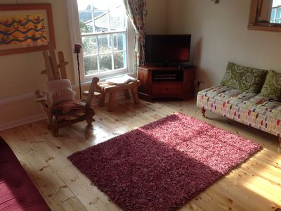 Photo for Delightful, light and airy cottage in the heart of Mousehole