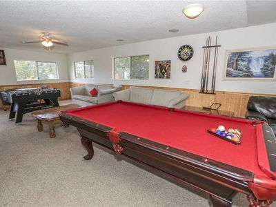 Photo for Swiss Chalet - 6BR/4BA/Game Room/Pool Table/FREE 2 hour Bike/Kayak Rental!