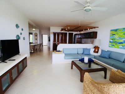 Photo for Luxurious Beachfront Condo in Private Location 3 Bedroom