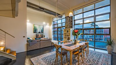 Photo for Luxury warehouse apartment close to CBD