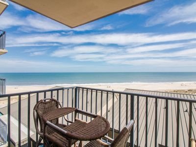 Photo for B502: Updated 1BR Sea Colony Oceanfront Condo - Private beach, pools, tennis ...