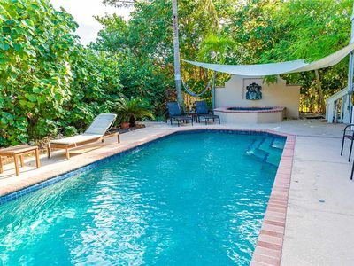 Photo for Canal Front Home, Dock - Heated Pool - Dog Friendly