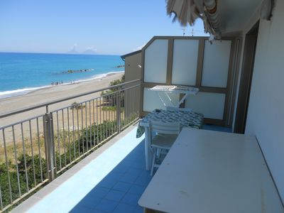 Photo for Splendid apartment on the beach in Sicily