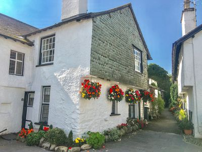 Photo for ALICE'S COTTAGE, with open fire in Hawkshead, Ref 955317