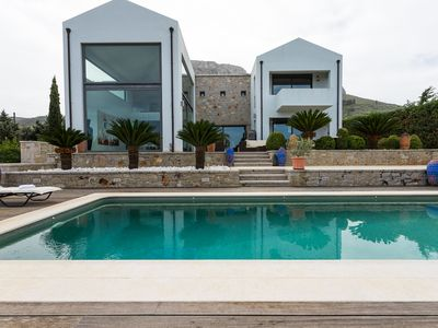 Photo for Unique Masterpiece Villa with pool in Ancient Corinth