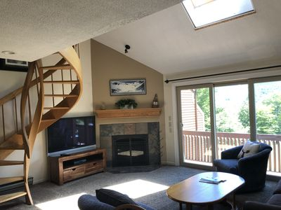 Photo for Immerse yourself in the White Mountains at this 2 bedroom  Nordic Village Condo!