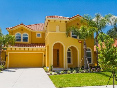 Photo for New (2015) Luxurious 6 bed, 5.5 bath villa, south facing, extended private pool
