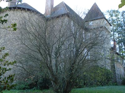 Photo for Authentic 13 Century Chateau-Fort, near rail, motorway, airport, and golf course