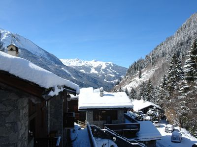 Photo for Chalet 10 people Champagny en Vanoise ski resort La Plagne Paradiski