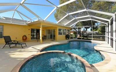 Photo for Sunny Days Rental Pool Home Minutes from Local Beaches!