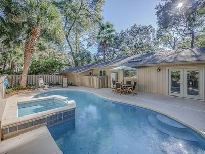 Photo for 12 Deer Run - Adorable spacious home with very private pool.