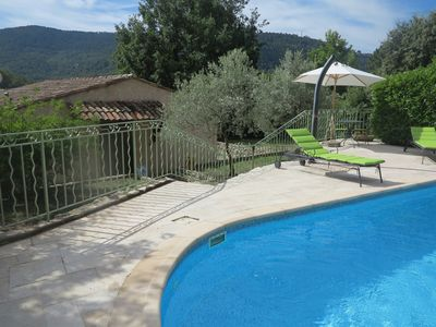 Photo for House with heated pool in a beautiful setting