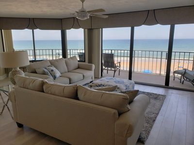 Photo for Newly renovated OCEANFRONT CONDO- 3 BD/3 Full bath, phenomenal 4th floor views!