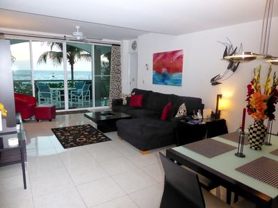 Photo for Deluxe Oceanfront Condo w/Direct Beach Access. All rooms Oceanview!