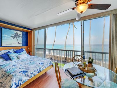 Photo for Ocean Front Paradise at Magic Sands Beach