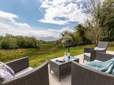 Photo for Lovely home overlooking Kenmare Bay below