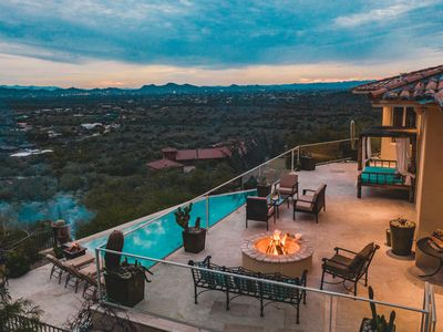 Photo for *GETAWAY* Huge Desert Villa w/ Tennis Court, Pool, Firepit ❤ by AvantStay