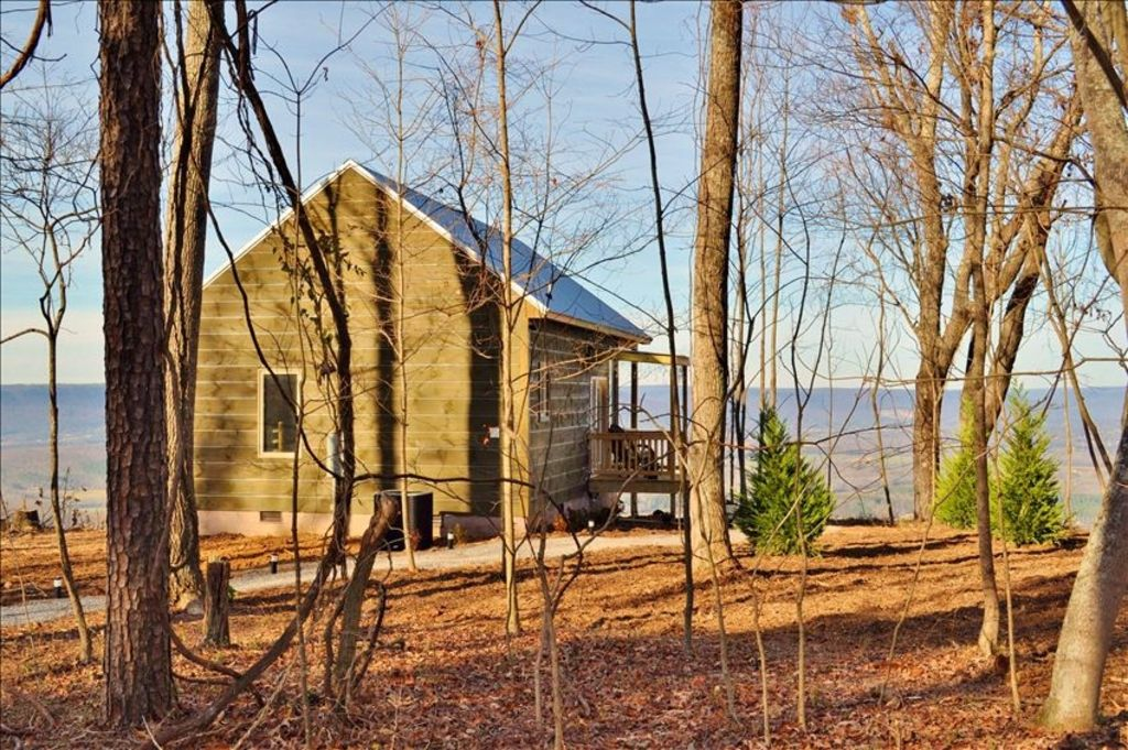 View Wow Hot Tub Gated Cabin Lake Chattanooga 25