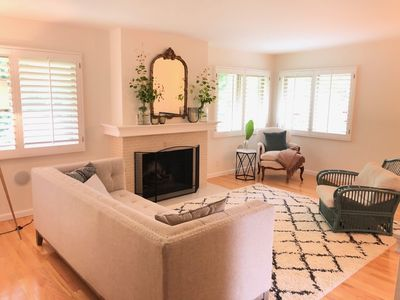 Photo for Modern Riviera Home, steps away from The Mission and The Rose Garden