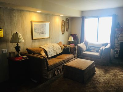 Photo for Comfortable 2-Bed 2-Bath Mammoth Condo near bus line,  Vons, restaurants & bars