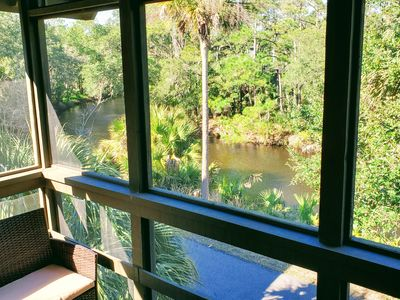Photo for Private & Quiet 2nd Floor End Unit, Stunning Lagoon View, WiFi, 2 min to beach