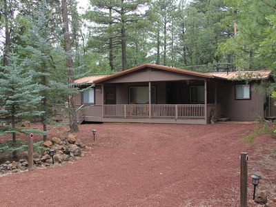 Photo for NEW LISTING!  Comfortable and Quiet Pinetop Getaway