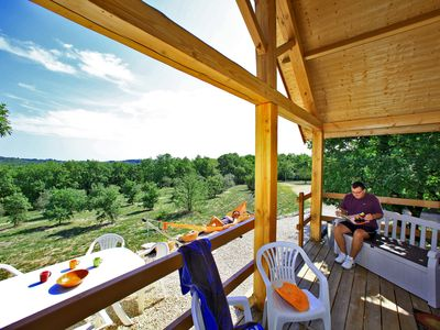 Photo for Gites with heated pool all year round and covered near Sarlat