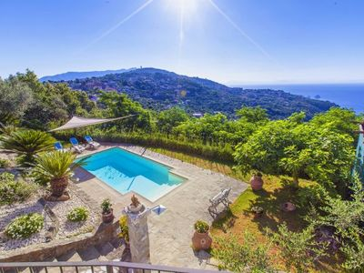 Photo for Sant'Agata sui Due Golfi Villa, Sleeps 7 with Pool, Air Con and WiFi