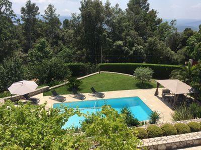 Photo for Maritime Alps, quiet villa with heated pool and large garden