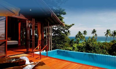 Photo for Romantic Villa with Private Pool and Sea