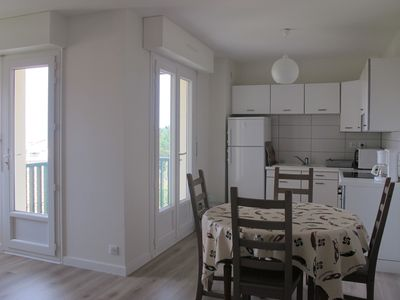 Photo for T3 ocean view quiet terraces parking 3 minutes from beaches, shops and golf