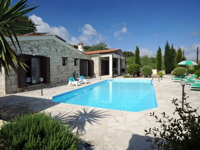 Photo for Stunning, Secluded Three Bedroom Bungalow with Pool in Paphos Countryside