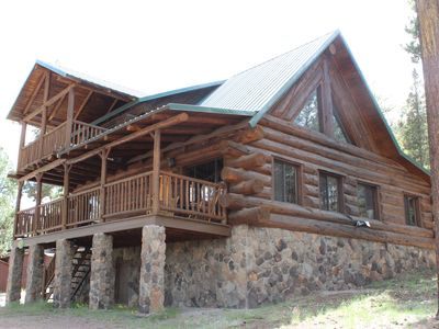 Photo for Long Hawk Rustic Cabin In the Woods