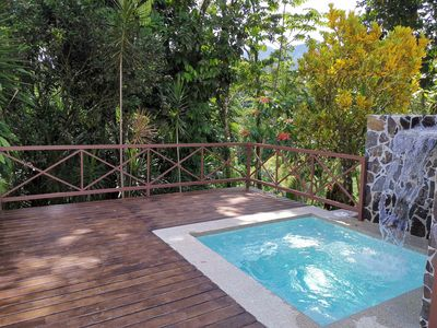 Photo for The Rain Forest Cabin w/Private pool (44Ft2)