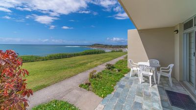 Photo for Craigmore On The Beach Unit 4 - ground floor with views