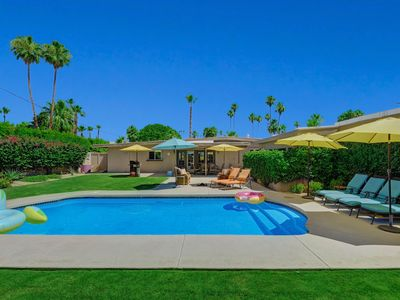Photo for Ultimate Modern Palm Springs Getaway w/ Large Backyard and Private Pool