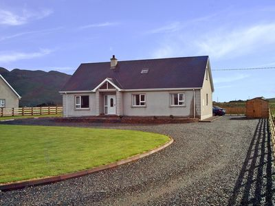 Photo for Detached cottage, with fine southerly views of Raghtin More (1657 ft) and surrounding mountain…