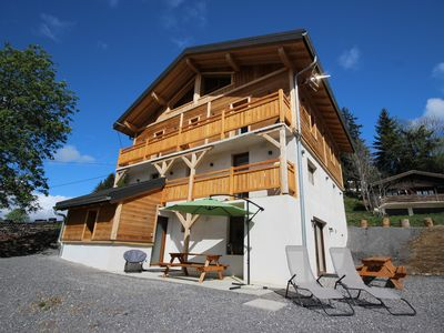 Photo for Luxury chalet rental New 15 people - Sauna and Billiards