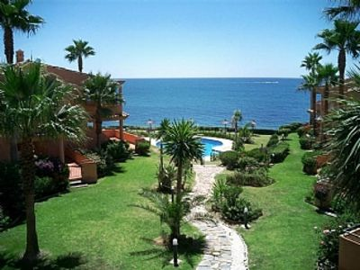 Photo for Fantastic  sea views. 2 pools. 3 m from Beach May offer only €375 per week