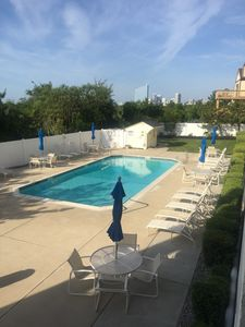 Photo for South end - Newly renovated 2 bedroom ocean facing condo with pool.