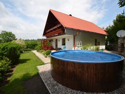 Photo for Comfortable detached house with swimming pool, terrace with unobstructed views