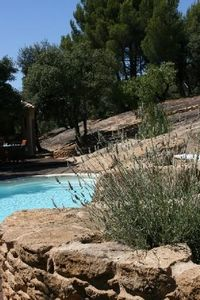 Photo for Authentic charming farmhouse with swimming pool for rent in Provence
