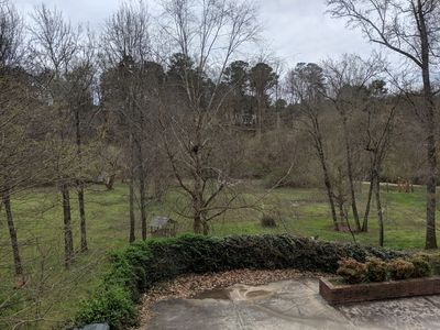 Photo for One bdrm fully furnished apartment on quiet, wooded 2 acre lot in Sandy Springs