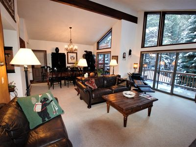 Photo for Lovely Creekside Family Home #4484 in East Vail w/ Private hot tub