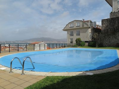 Photo for Terrace, sea views and pool