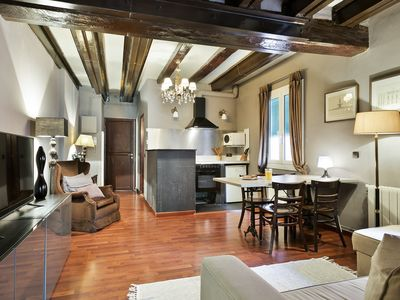 Photo for Vintage apartment perfect for families – Old town Barcelona