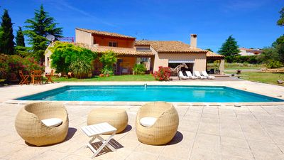 Photo for Villa Cicada - Pool, BBQ, Billards, Petanque