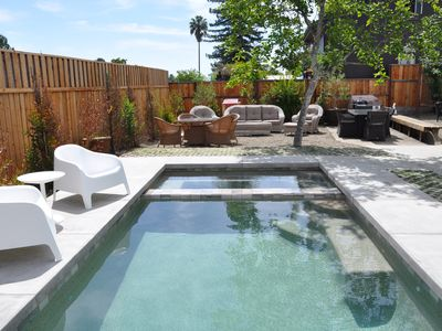 Photo for Remodeled Sonoma County Landmark With Pool and Hot Tub.  Walk to Geyserville.