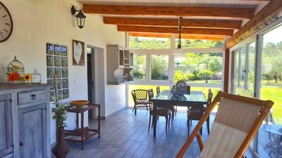 Photo for Villa in Alghero, 2 km from the beach with garden, outbuilding for 8 people