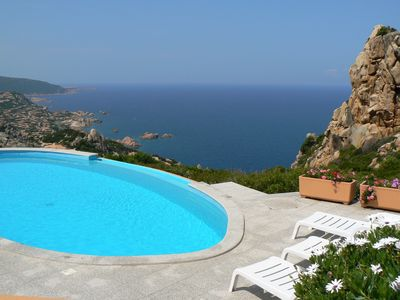 Photo for Detached 3 bed villa, private pool with stunning sea views